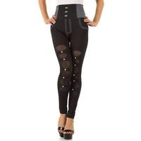 Damen Leggings von Fashion Design Gr. one size - black