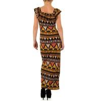 Damen Kleid von Noemi Kent - senf