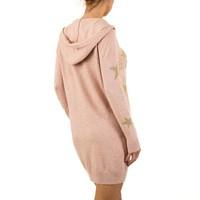Damen Kleid von Moewy Gr. one size - rose