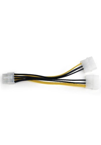 Cablexpert Interne voedingskabel voor PCI express, 8-pins