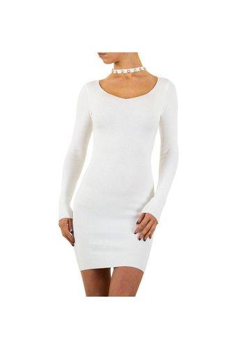 MC LORENE Damen Kleid von Mc Lorene Gr. eine Größe - weiß