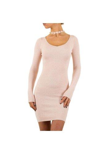 MC LORENE Damen Kleid Gr. eine Größe - Rosa