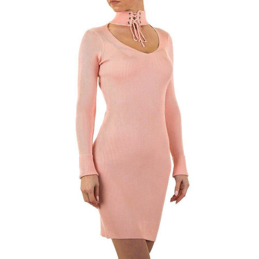 Damen Kleid Gr. eine Größe - Rosa