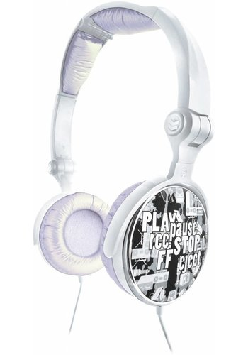 G-Cube G-Play - Silver - Stereo folding headphone