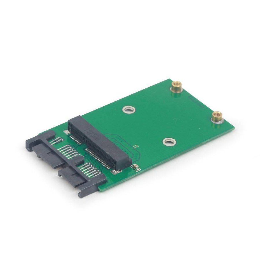 Mini SATA 3.0 auf Micro SATA 1.8' SSD Adapterkarte