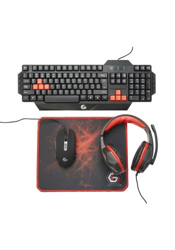 GMB Gaming Ultimatives 4-in-1 Gaming-Kit