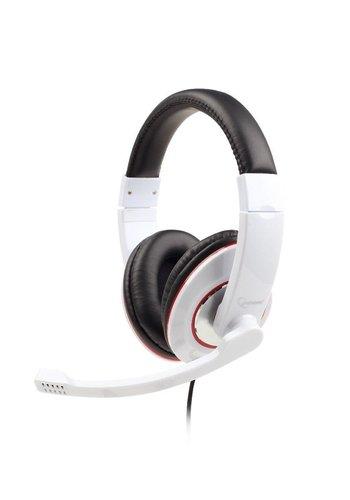 Gembird Stereo-Headset, glossy white