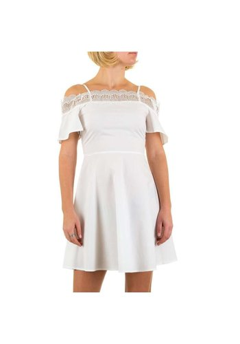 SHK MODE Damen Kleid von Shk Mode - white