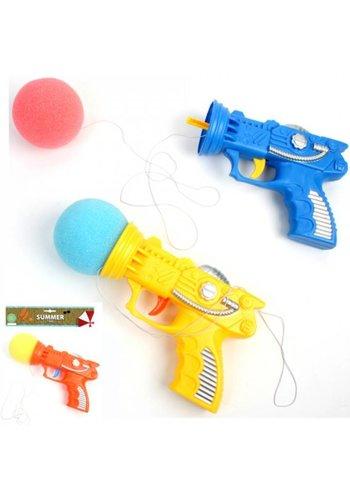 Neckermann Speelgoedpistool met schuimbal - assorti