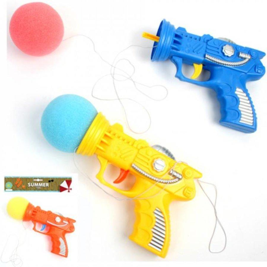 Speelgoed pistool met schuimbal
