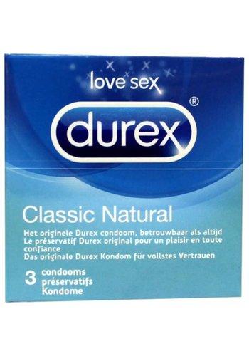 Durex Condooms Classic - Natural - 3 stuks