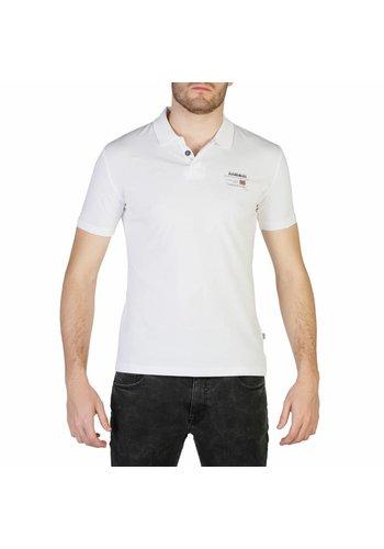 Napapijri Heren Polo shirt Napapijri Wit