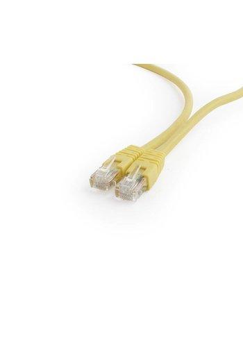 Cablexpert UTP Cat6 patchkabel, geel, 0.5 meter