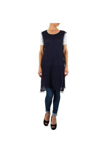SHK MODE Dames Tuniek van Shk Mode  one size - Donker Blauw