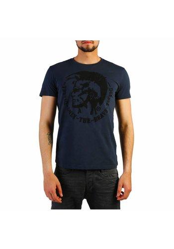 Diesel Heren T Shirt  T-DIEGO - dk.blauw