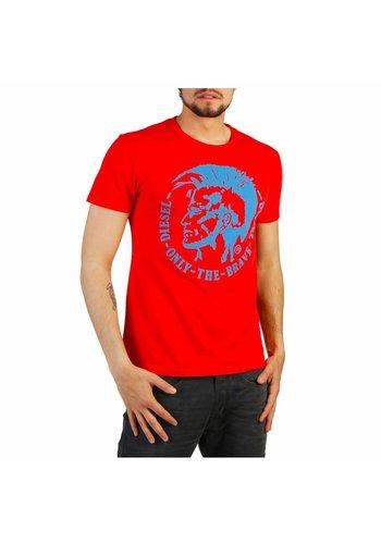 Diesel Heren T-shirt T-DIEGO - rood