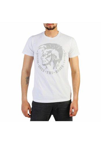 Diesel Heren T- shirt T-DIEGO - wit