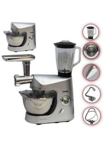 DMS Keukenmachine 3 in 1 - 5 liter - 1800W
