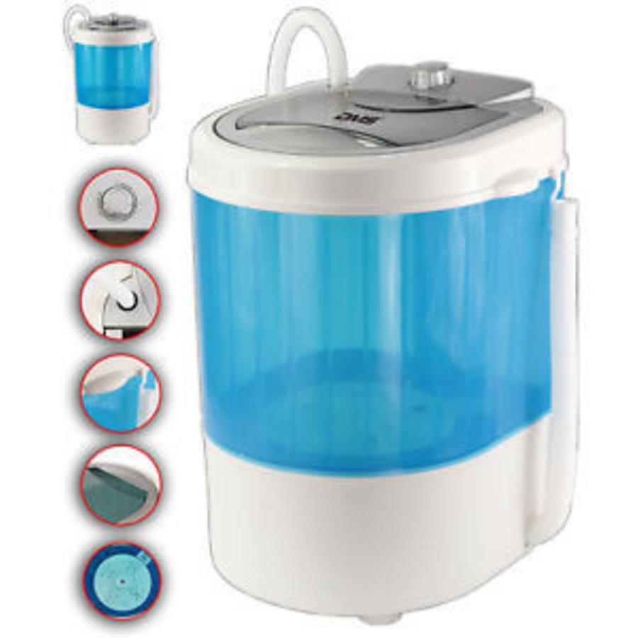 Mini wasmachine - 3,5 kg - blauw