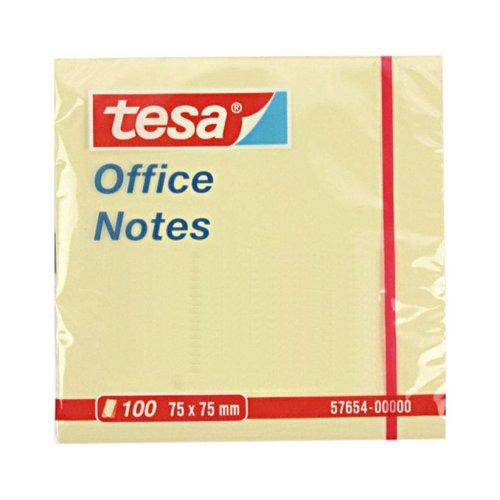Tesa Notes - bureau - 75x75mm - 100 pièces