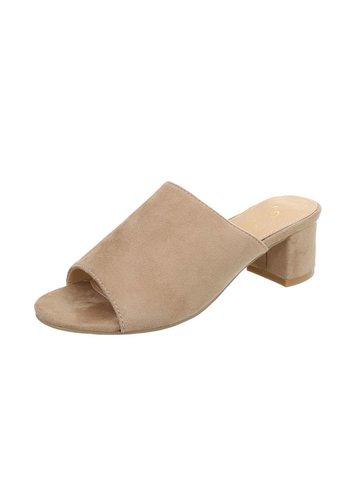 Neckermann Damen Flache Sandalen - beige