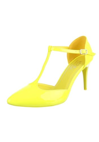 Neckermann Mesdames talons hauts - jaune