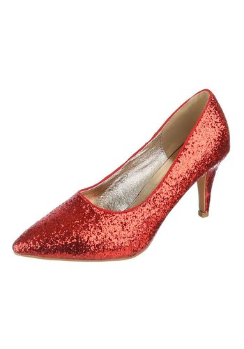 LADY Damen Pumps - red