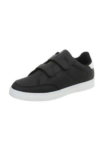 Neckermann Kinder Sneaker met klittenband - zwart