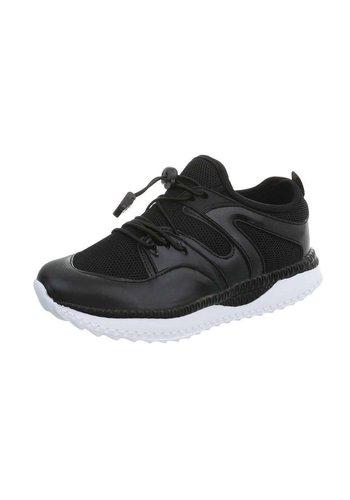 Neckermann Chaussure de sport pour enfants avec dégagement rapide - noir