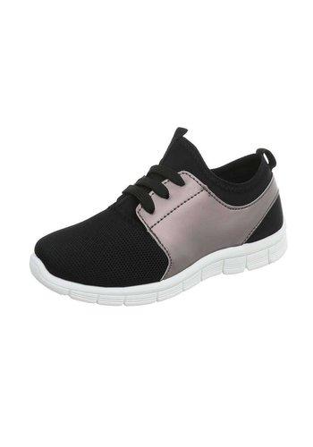 Neckermann Sneaker pour enfants avec ventilation frontale - noir