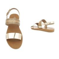 Damen Sandalen - Gold