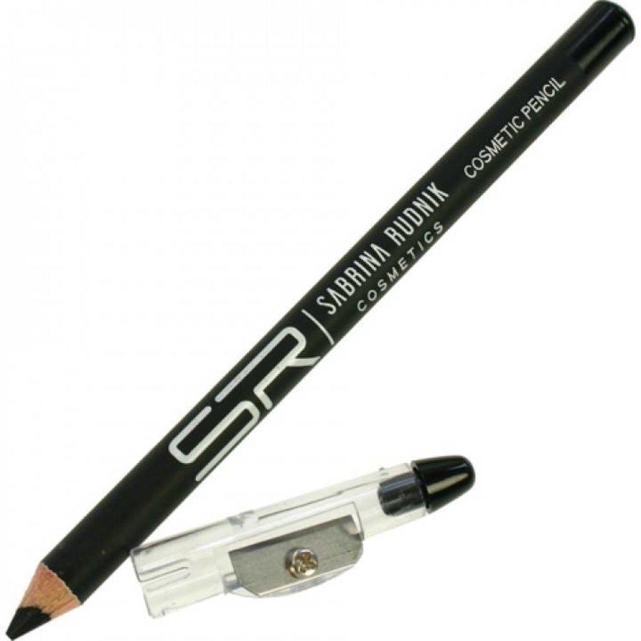 Eyeliner potlood - zwart - 14 cm