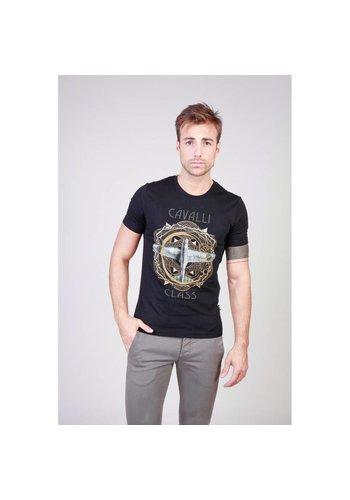 Cavalli Class Herren T-Shirt B3JQB70836598_0114_8 - schwarz