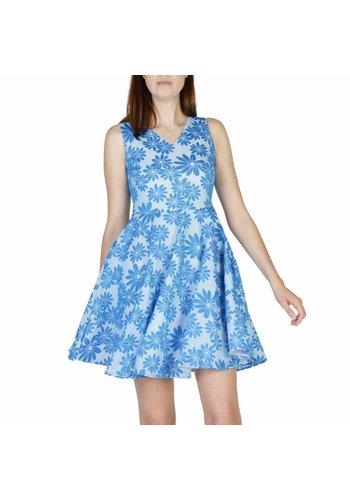 New Laviva Damen Kleid ABBONDANZA - blau floral