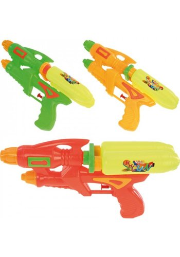 Neckermann Waterpistool - dubbele tank - 27 cm - assorti
