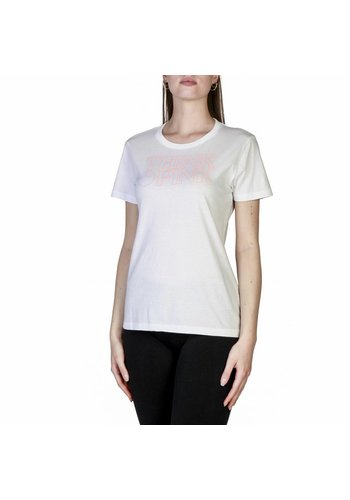 Think Pink T-shirt femme T18SA5203588 - blanc