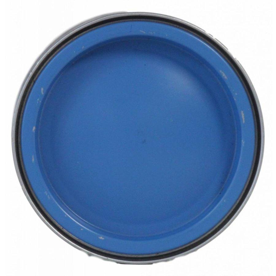 Zijdeglans lak - caribbean blue - 250 ml