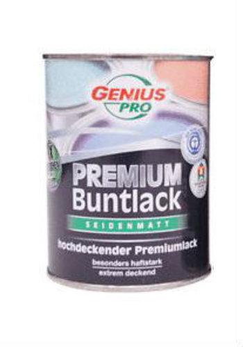 Genius Pro Zijdeglans lak - pastelgeel - 250 ml