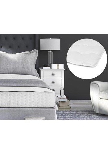 Sleeptime Luxury Hotel Mattress Topper Wit