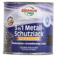 Grondverf - hoogglans - anti roest - 3in1 - bruin - 375 ml