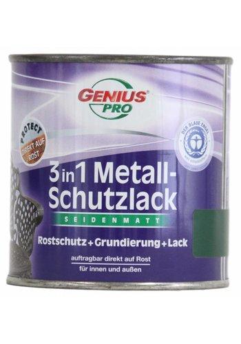 Genius Pro Grondverf - zijdeglans - anti roest - 3in1 - groen - 375 ml