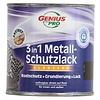 Genius Pro Grondverf - hoogglans - anti roest - 3in1 - bruin - 750 ml