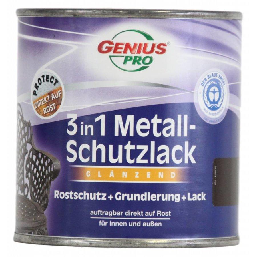 Grondverf - hoogglans - anti roest - 3in1 - bruin - 750 ml