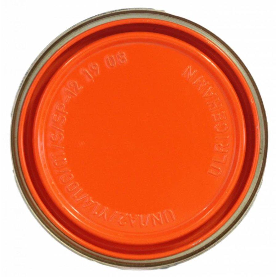 Hoogglans aflak - oranje - 750 ml