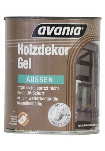 Avania Houtgel - teakhout - voor buiten - 750 ml