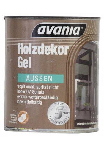 Avania Houtgel - lichtgrenen - voor buiten - 750 ml