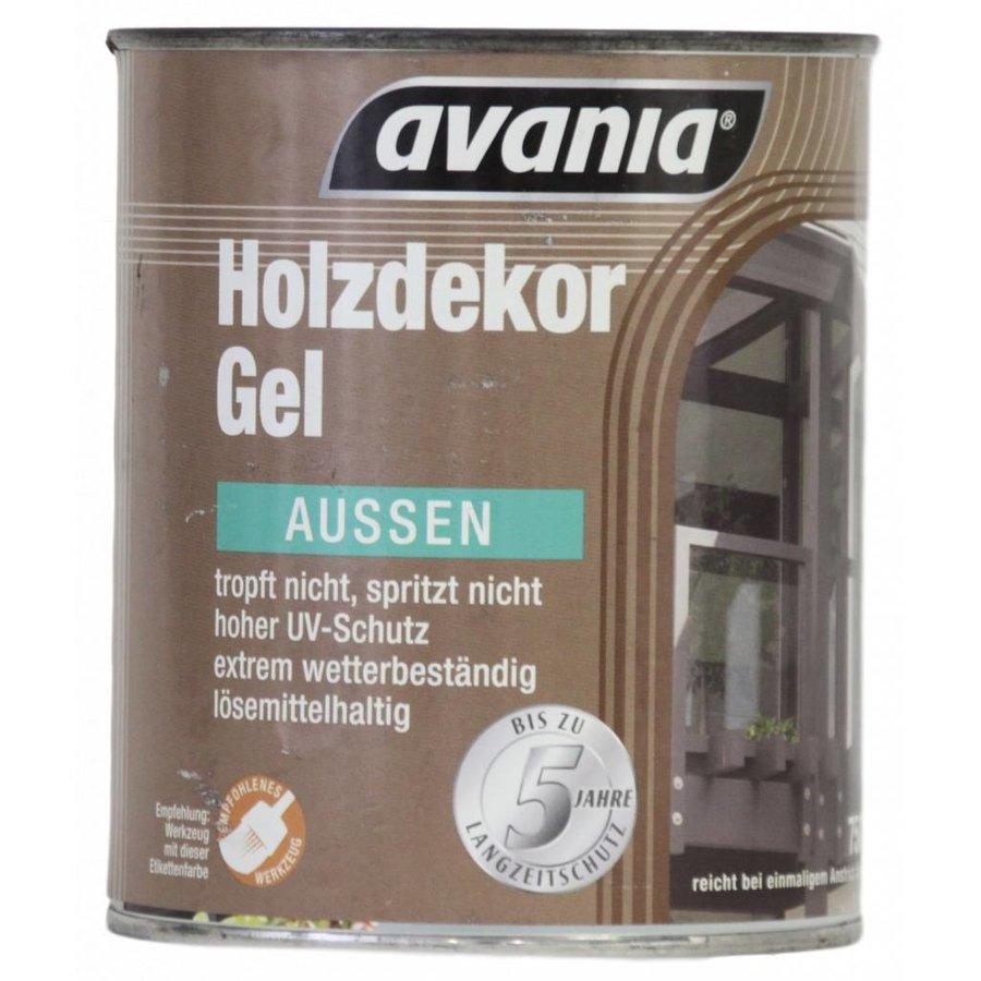 Houtgel - walnoot - voor buiten - 750 ml