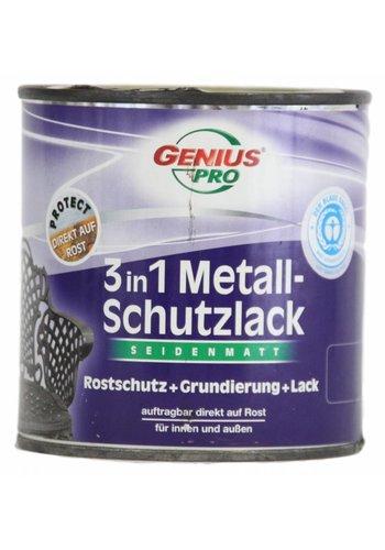 Genius Pro Grondverf - zijdeglans - anti roest - 3in1 - goud- 375 ml