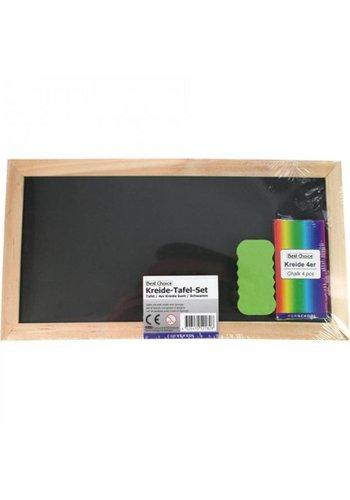 Best Choice Krijtbord - schoolbord - 28x15 cm