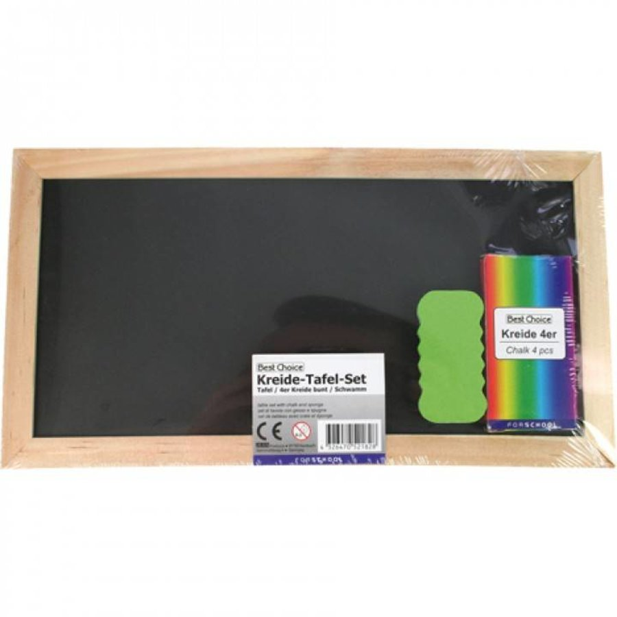 Krijtbord - schoolbord - 28x15 cm